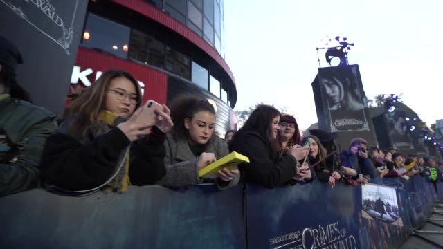 ATMOSPHERE 'Fantastic Beasts The Crimes of Grindelwald' UK premiere on November 13 2018 in London England