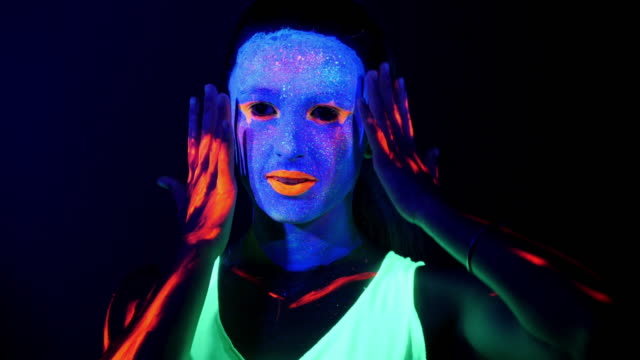 66 Uv Paint Video Clips & Footage - Getty Images