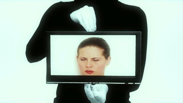 vidéos et rushes de fantaisie de télévision - télévision haute définition
