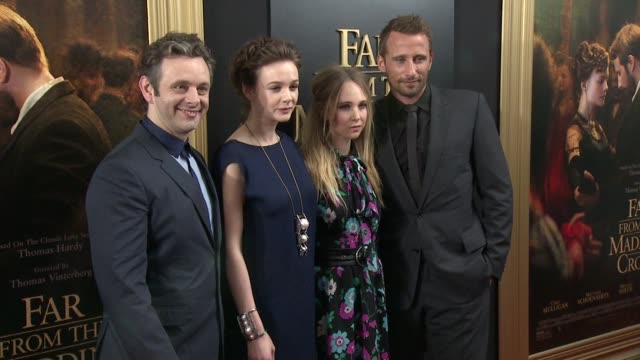 clean far from the madding crowd new york special screening presented by fox searchlight at the paris theatre on april 27 2015 in new york city - event capsule stock videos & royalty-free footage