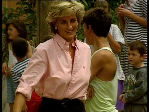 'Farewell to a Princess' LIB Diana along during landmine visit to Bosnia