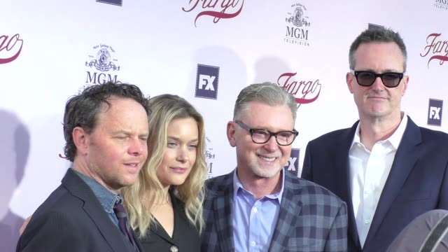 Fargo Cast at the For Your Consideration Event For FX's Fargo at Paramount Pictures in Hollywood in Celebrity Sightings in Los Angeles