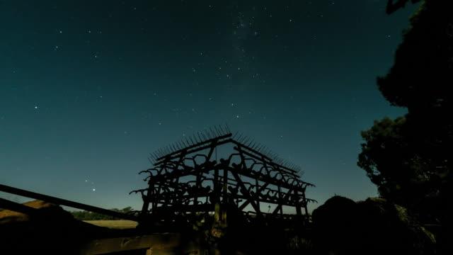 Farm at Night