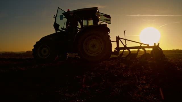 WS Farmer after a long day of working