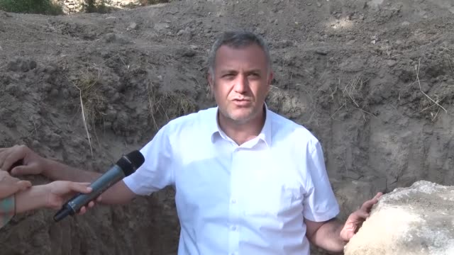 a farmer in eastern turkey uncovered a premodern food storage device on wednesday while plowing his field the device dating back to the late 1700s... - under her feet stock videos & royalty-free footage