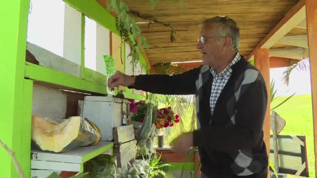 A farmer in Uruguay puts his faith in people with an unsupervised produce stand where he and his business partner leave organic plants fruits and...