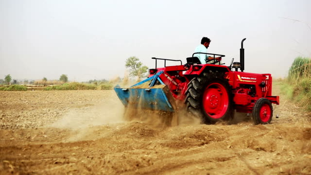 farmer plowing field - plough stock videos & royalty-free footage