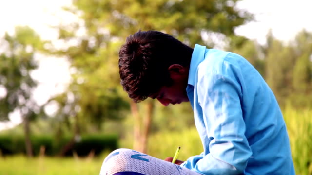 farmer writing something on his notebook - employment issues stock videos & royalty-free footage