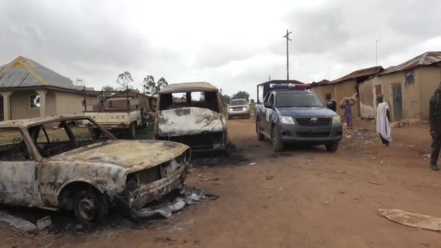 farming communities in central plateau state nigeria are grieving their dead and preparing to flee after last weekend's mass killings more than 200... - jos nigeria stock videos & royalty-free footage