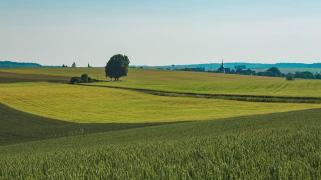 farmland and grassland / germany - prairie stock videos & royalty-free footage