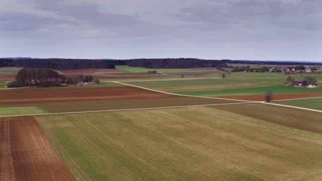 バーデン = ヴュルテンベルク州 - ドローン ショットの農地 - バーデン・ビュルテンベルク州点の映像素材/bロール