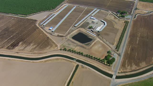 vidéos et rushes de farmland in central valley california - hémisphère nord