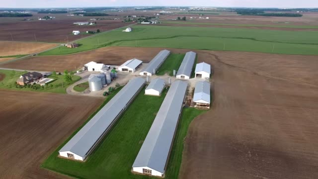 stockvideo's en b-roll-footage met farmland in ohio - ohio