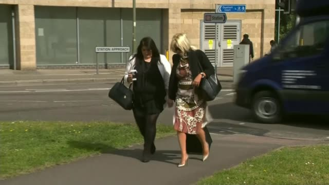Inquest begins ENGLAND Surrey Woking HM Coroner's Court Surrey EXT Stacy Banner arriving at court