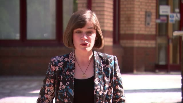 Inquest begins ENGLAND Surrey Woking HM Coroner's Court Surrey EXT Reporter to camera SOT Sarah Ricca set up shot with reporter / interview SOT