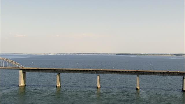Faro Bridges  - Aerial View - Zealand, Denmark