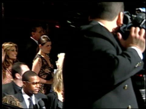 vídeos de stock e filmes b-roll de farrah fawcett at the 2002 academy awards vanity fair party at morton's in west hollywood california on march 24 2002 - festa dos óscares da vanity fair