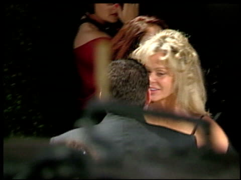 farrah fawcett at the 2002 academy awards vanity fair party at morton's in west hollywood california on march 24 2002 - farrah fawcett stock videos and b-roll footage