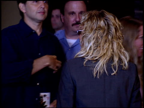 farrah fawcett at the premiere of 'the manchurian candidate' at academy theater in los angeles california on july 22 2004 - farrah fawcett stock videos and b-roll footage