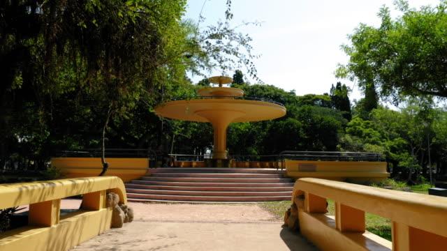 vídeos de stock, filmes e b-roll de farroupilha city park in porto alegre, brazil - distrito