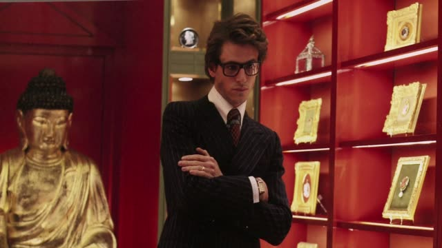 fashion biopic saint laurent which traces the life and times of legendary french designer yves saint laurent is to represent france as a possible... - saint laurent stock videos & royalty-free footage