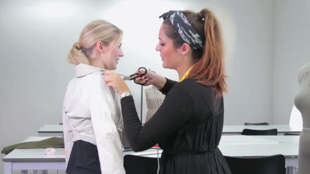 Fashion Designer tailoring model