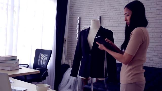 fashion designer - atelier fashion stock videos & royalty-free footage