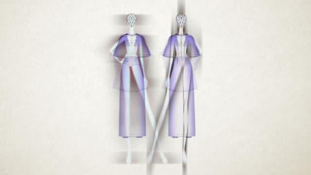 vídeos de stock e filmes b-roll de fashion doll - in colour - manequim