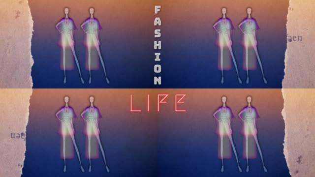 fashion doll - in colour - digital animation stock videos & royalty-free footage