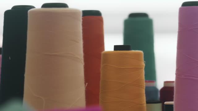 fashion industry - ago parte della pianta video stock e b–roll