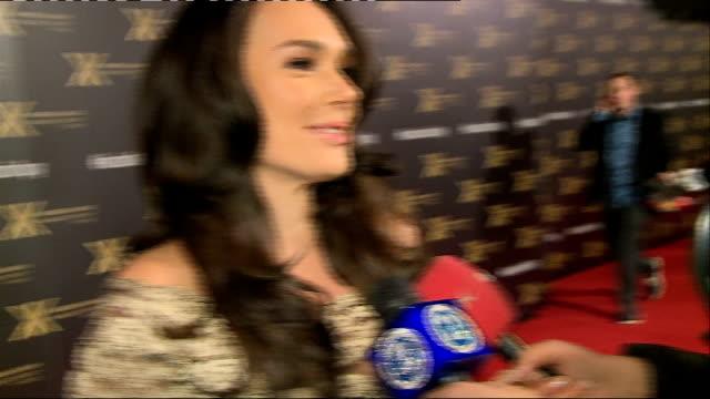 Khloe Kardashian for Lipsy launch party arrivals ENGLAND London Natural History Museum THROUGHOUT*** Tamara Ecclestone interview SOT / GVs Tamara...