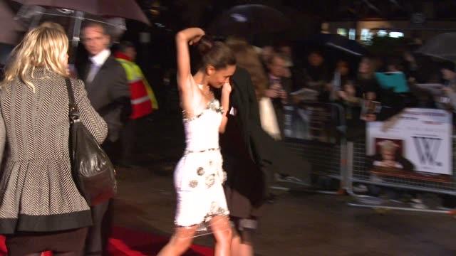 Fashion shot Thandie Newton at the London Film Festival W premiere at London