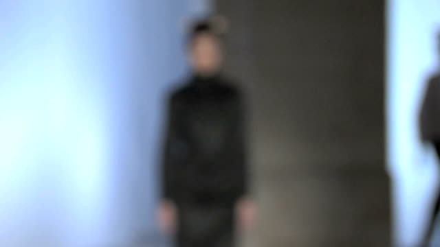 fashion show defocus - fashion show stock videos & royalty-free footage