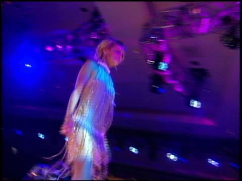 fashion show with nicole richie, dayna devon, meagan goode, lacey chabert, maria menounos, shaun robinson, rachel hunter, and garcelle beauvais-nilon... - レーストゥイレースms点の映像素材/bロール
