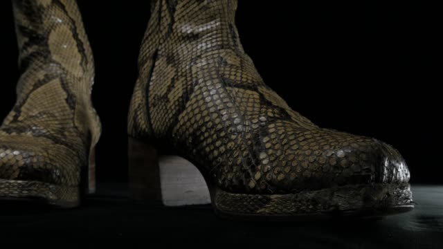 fashion week music star boots - heavy metal stock videos & royalty-free footage