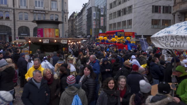 fasnacht in basel - switzerland stock videos & royalty-free footage