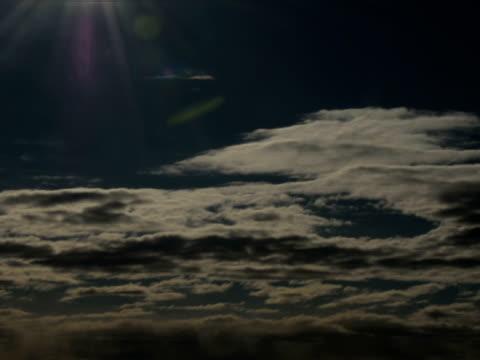 高速雲が空の旅 - 撮影機材点の映像素材/bロール