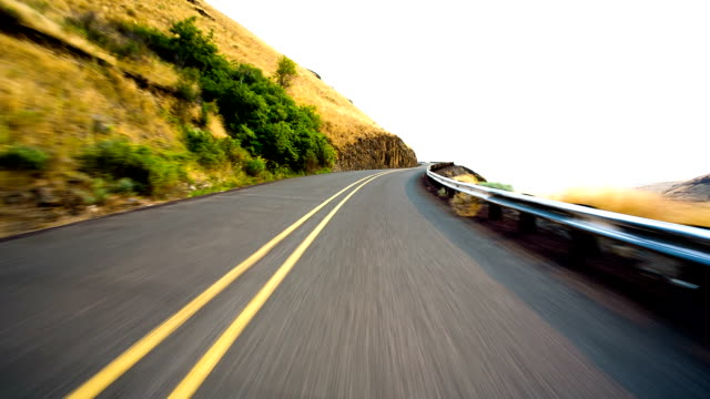 fast driving - uphill stock videos & royalty-free footage