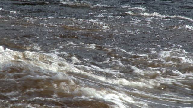 fast flowing river in south west scotland - johnfscott stock videos & royalty-free footage