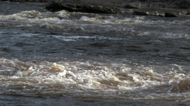 Fast flowing river in south west Scotland