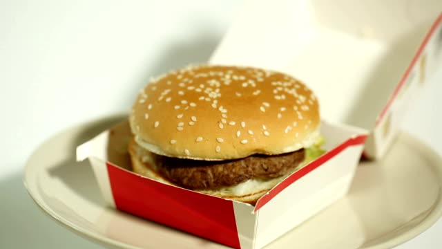 fast food - downsizing stock videos & royalty-free footage