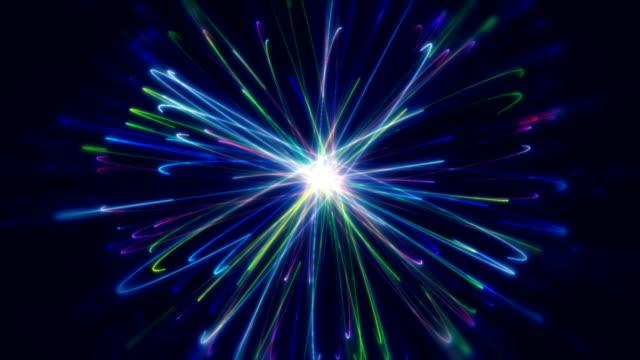 vidéos et rushes de sentiers lumineux rapides - activité