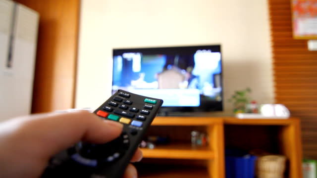 Fast Motion - Changing Channels with Remote Controller