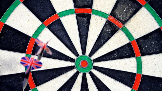fast motion - playing darts - dart board stock videos & royalty-free footage