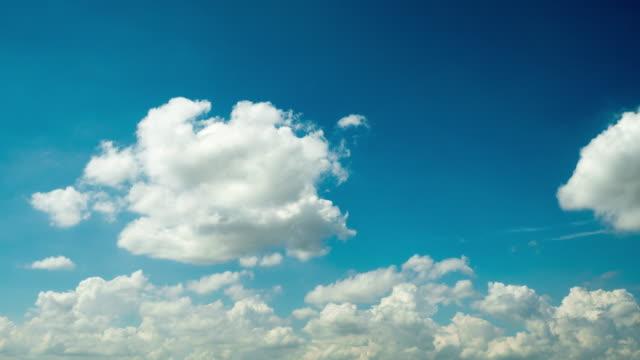 Schnell bewegte Wolken Motion Timelapse