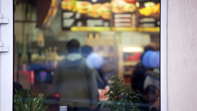 fastfood - fast food restaurant stock videos & royalty-free footage
