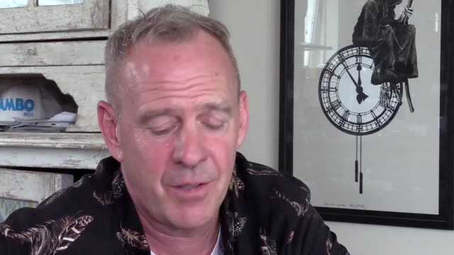 fatboy slim is due to perform three shows at this year's glastonbury festival, including the world premiere of ibiza: the silent movie. he is musical... - julien temple stock videos & royalty-free footage