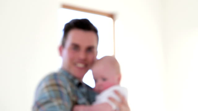 father and child - genderblend stock videos & royalty-free footage