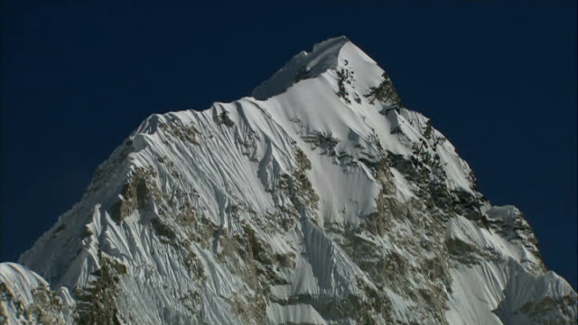 father and son join medical research trek to everest r02120907 / himalayas mount everest ext snow covered mount everest against cloudy sky general... - base camp stock videos and b-roll footage