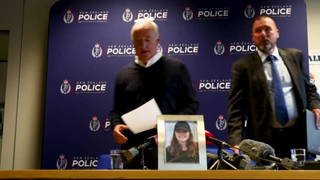 father of missing british woman grace millane david millane reads a statement on december 07 2018 in auckland new zealand police are investigating... - missing persons stock videos & royalty-free footage